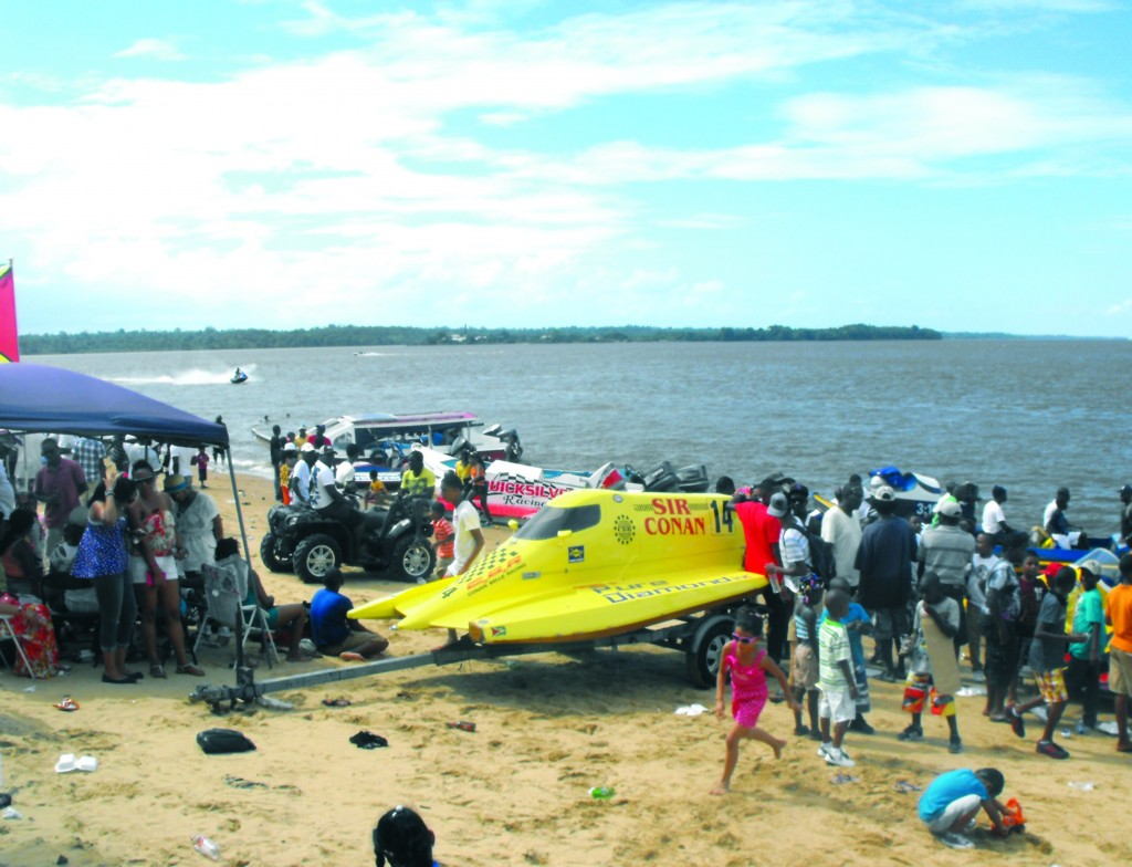 Patrons-flocked-the-Bartica-beach-to-enjoy-the-jet-skiing-and-boat-rides-as-part-of-the-annual-Bartica-Regatta-festivities-on-Saturday